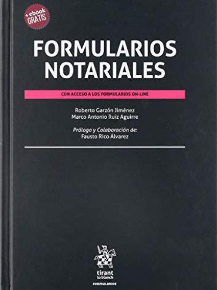 FORMULARIOS NOTARIALES