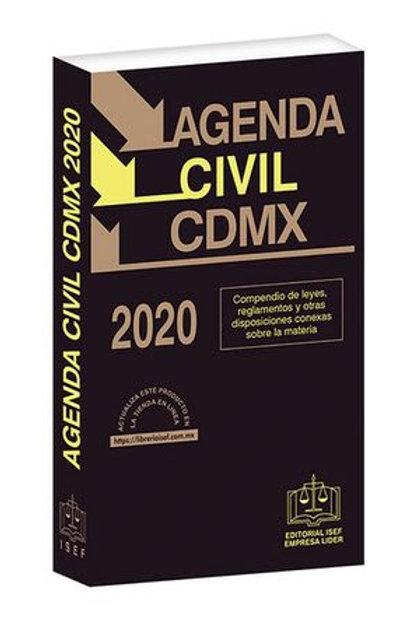 AGENDA CIVIL DE LA CDMX 2020