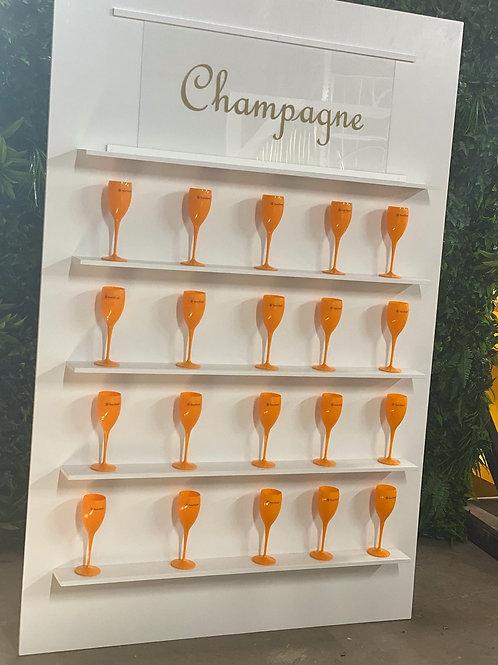 White Champagne Wall