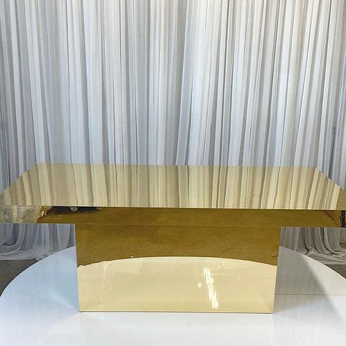 Sammi Sweetheart Mirrored Table