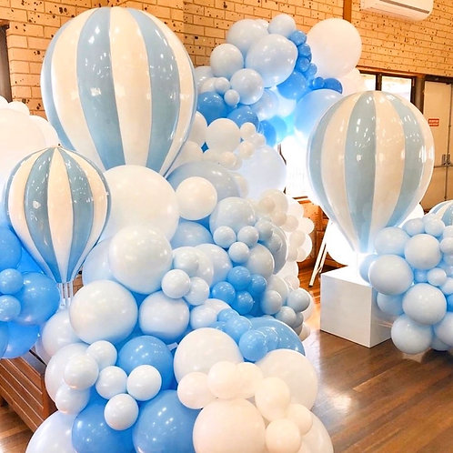 Blue Up & Away Balloons