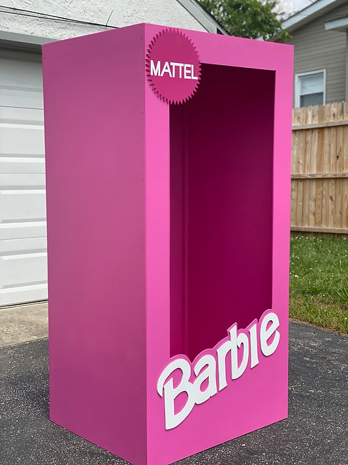 Barbie Tingz Box Prop