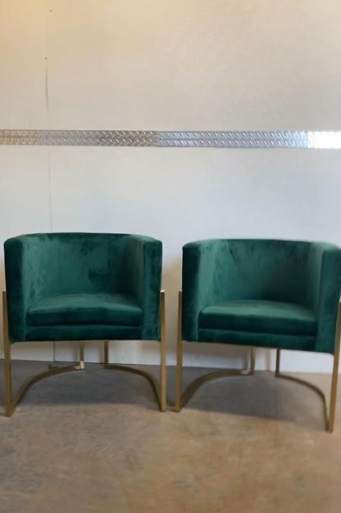 Emery Velvet Armchairs