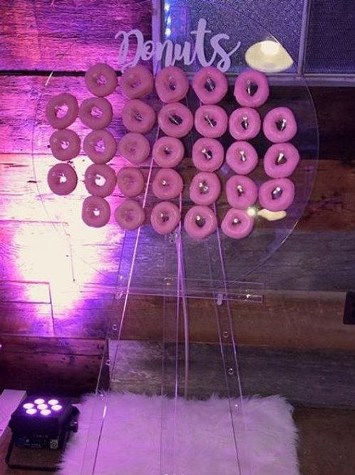 Holey Grail Acrylic Donut Wall