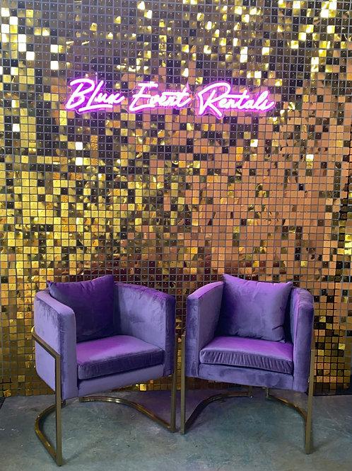 Majesty Velvet Armchairs