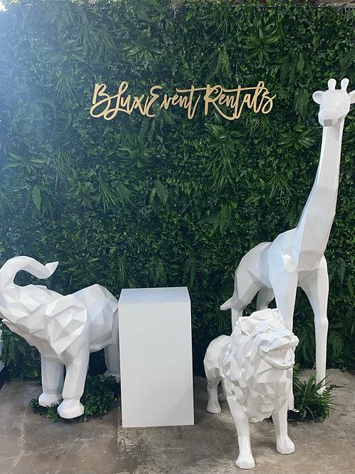 Modern Geo Safari Animals