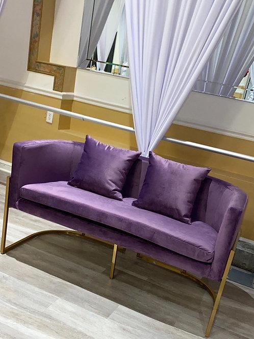 Majesty Velvet Two Seater Sofa