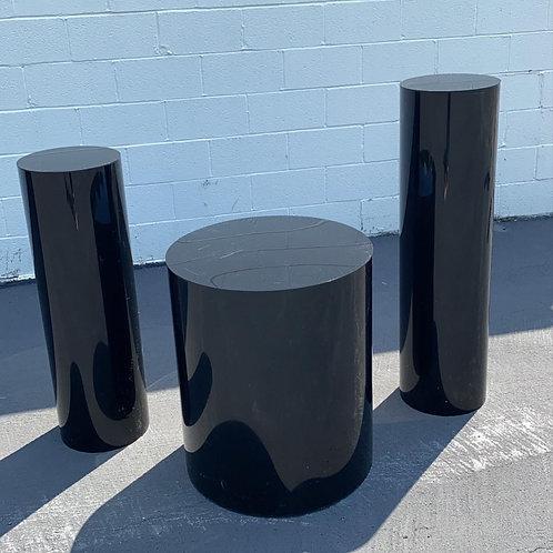 Black AcryLUXX Pedestals