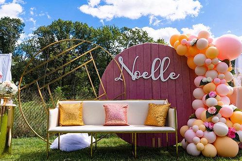 Noelle Velvet Wall
