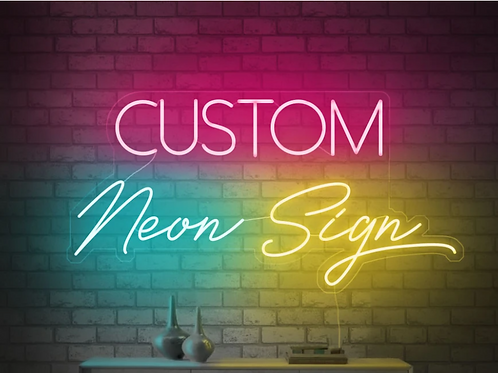 Custom Neon Signage