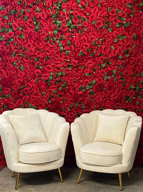 Ivory Rochelle Armchairs