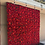 Thumbnail: Ruby Woo Flower Wall