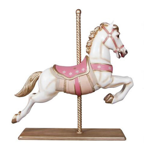 """""""Whimsy"""" Carousel Horses"""