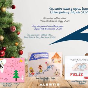 Y los ganadores de la VI Edición de Dibuja Su Navidad son...