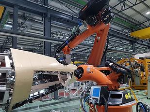 Célula robotizada Línea S19.1 A350 XWB (