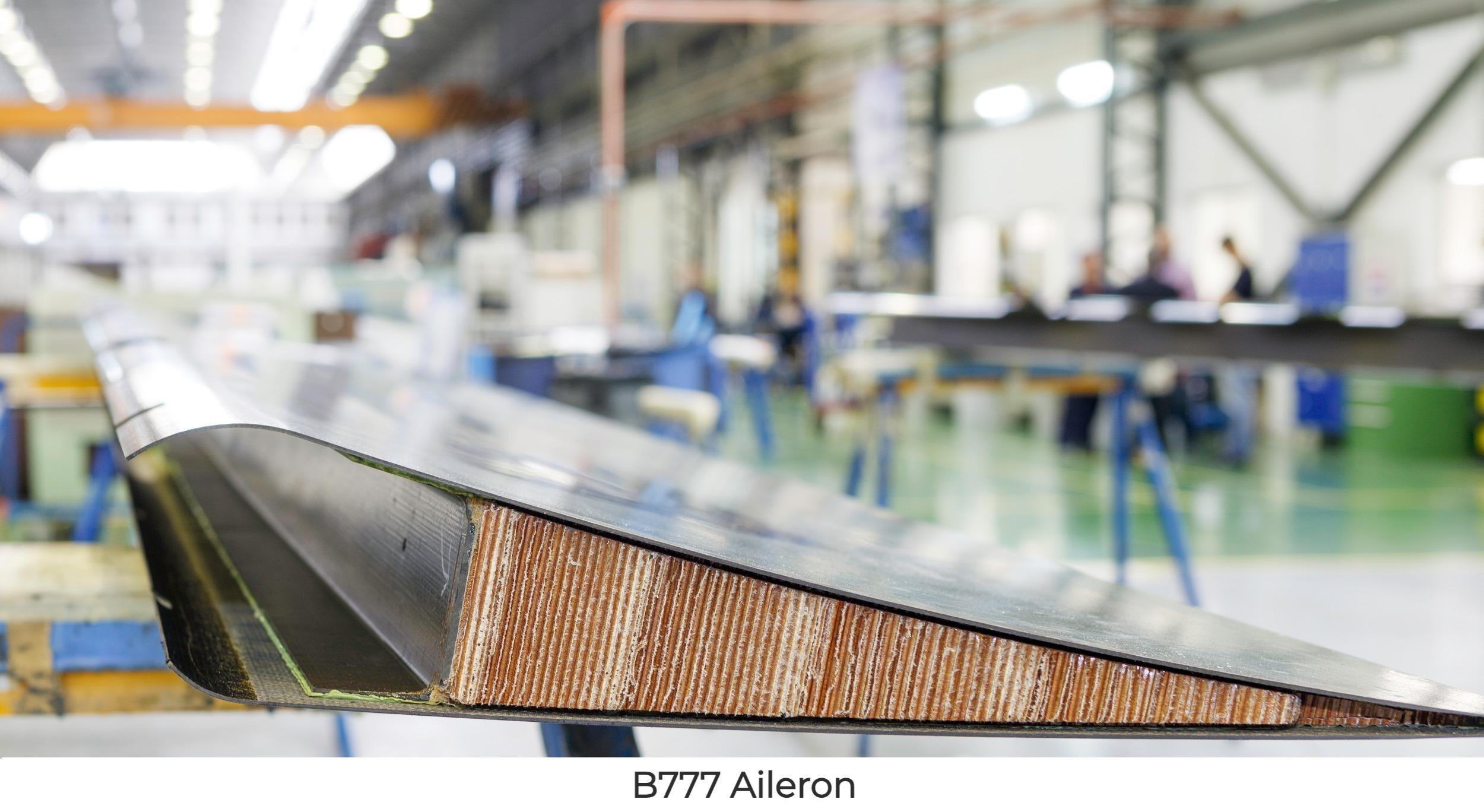 B777 Aileron