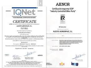 Logramos la certificación EN9110