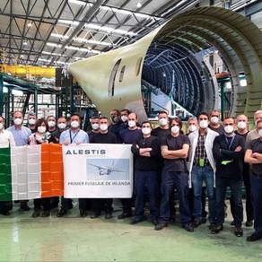 Entregamos el primer fuselaje posterior C295 versión Irlanda