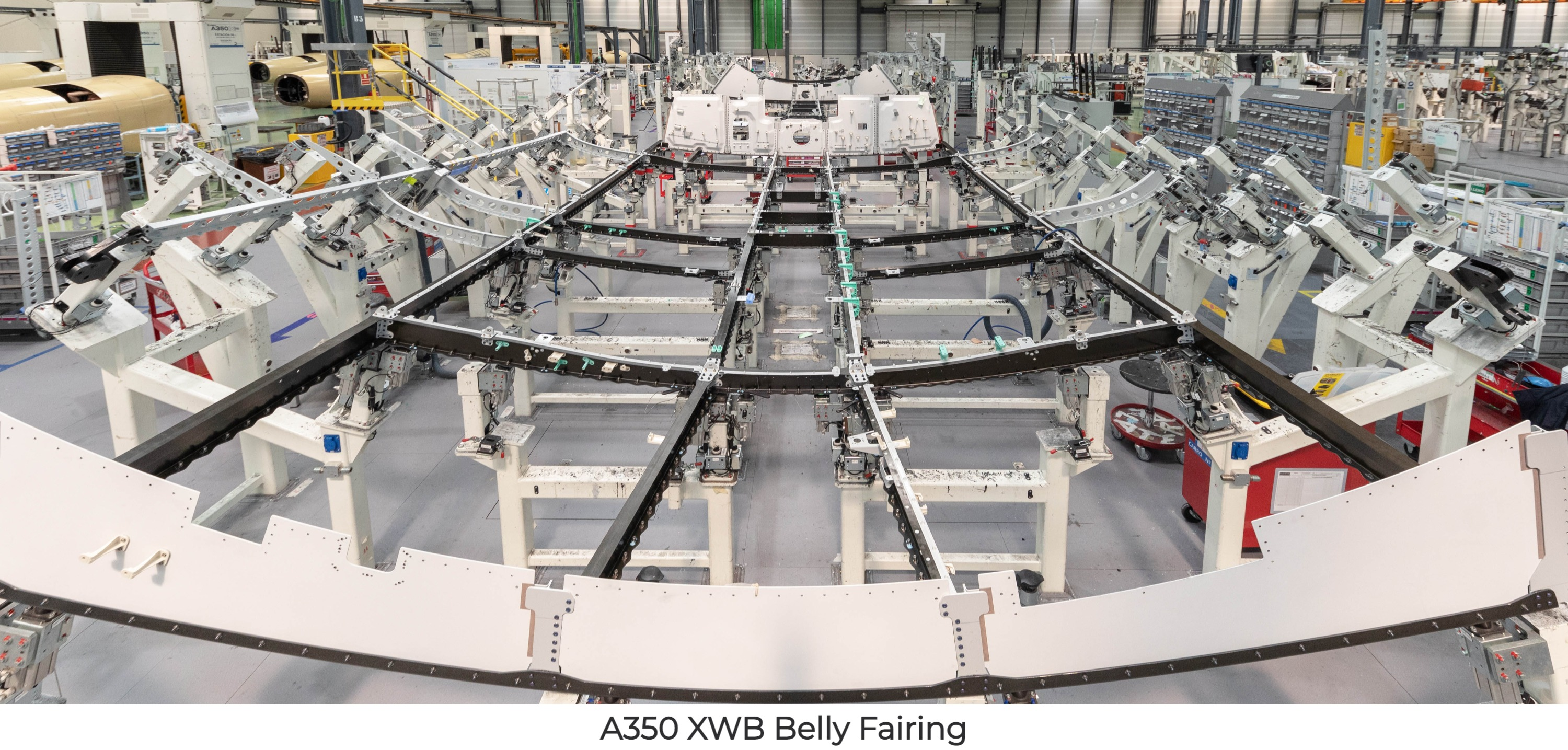 A350 XWB Belly Fairing