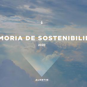 Publicamos la Memoria de Sostenibilidad 2020
