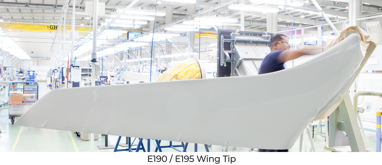 E190 / E195 Wing Tip