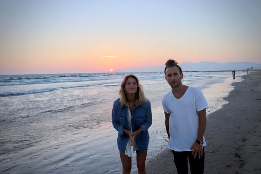 Kevin Paris & Casey Calmenson beach