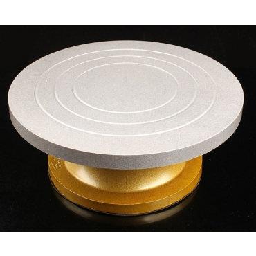 Поворотный столик для торта аллюминий 30см