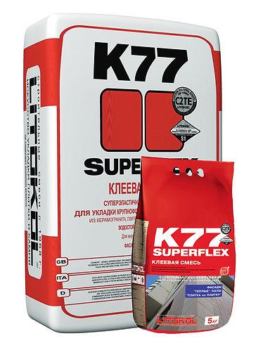 Плиточный клей Superflex K77 25кг