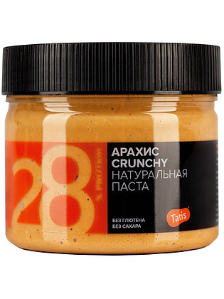 Арахисовая паста Tatis с кусочками арахиса 300г