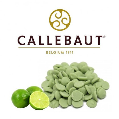 Шоколад Зеленый со вкусом Лайма Callebaut  100гр