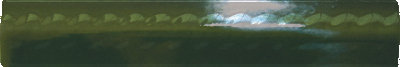 Бордюр настенный Cevica METRO Trenza Verde Vic 25*150