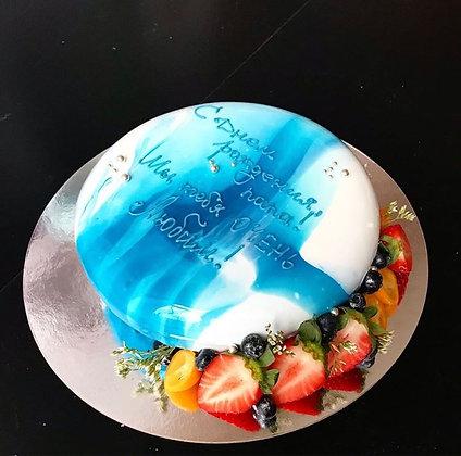 Силиконовая форма Эклипс для муссовых тортов
