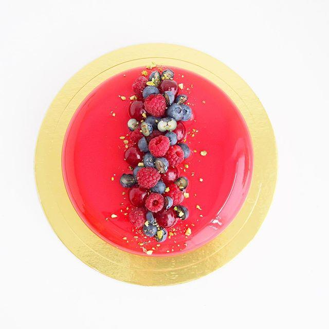 торт с зеркальной глазурью кудрово