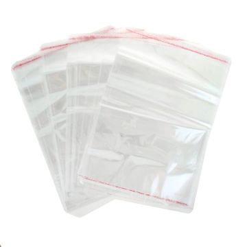 Пакетик для упаковки пряничков со скотчем 10х15см