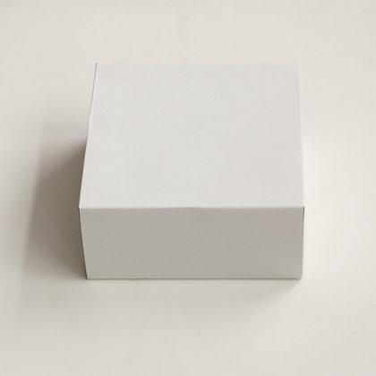 Коробка под муссовые торты Белый Картон 25.5х25.5х12.0 см