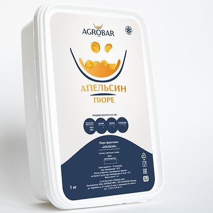 Пюре апельсин глубокой заморозки Агробар 100г