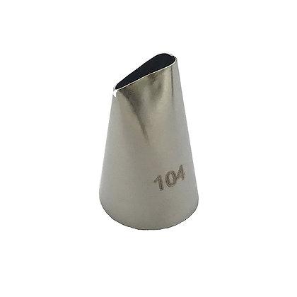 Кондитерская насадка №104 1мм