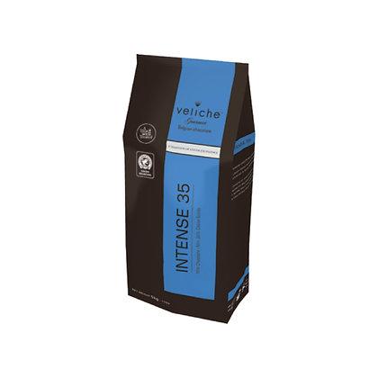 Шоколад молочный Intense 35% Veliche 2,5 кг