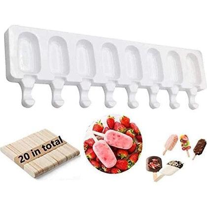 Форма силиконовая для мороженого Эскимо