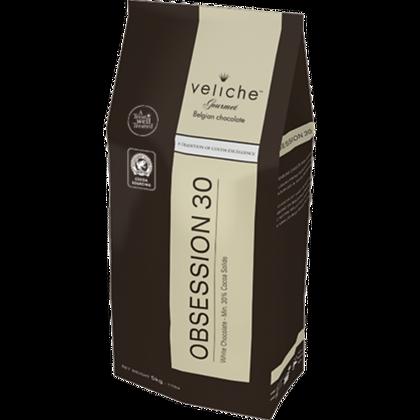 Шоколад белый Obsession 30% Veliche 2,5кг