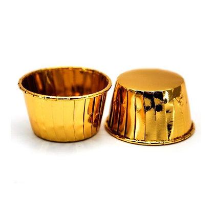 Капсула для маффинов 5х4см золото 10шт