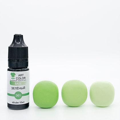 Гелевый краситель Зеленый Art Color 10г