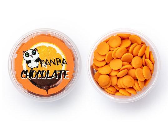 Шоколад ОРАНЖЕВЫЙ со вкусом апельсина 150гр