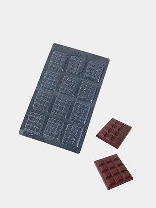 Форма для шоколада Вкусная плитка шоколада