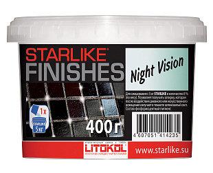 Фотолюминесцентная декоративная добавка STARLIKE®FINISHES NIGHT VISION 200г