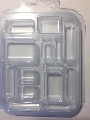 Молд пластиковый Прямоугольники