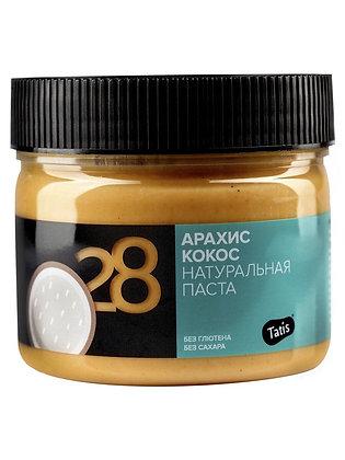 Арахисовая паста Tatis кокос 300г