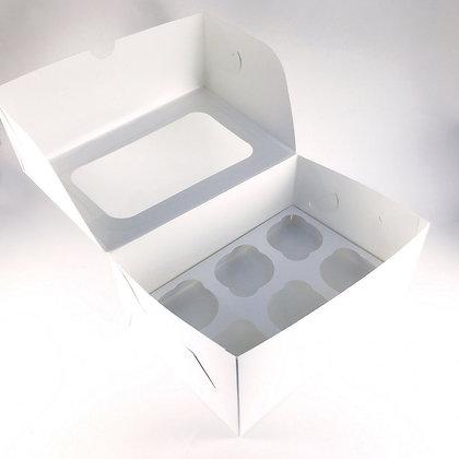 Коробка для Капкейков 6 ячеек с окном