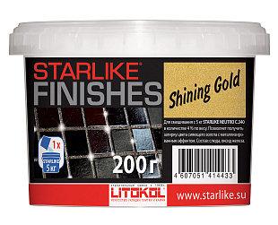 Декоративная добавка золотого цвета STARLIKE®FINISHES  SHINING GOLD 200г