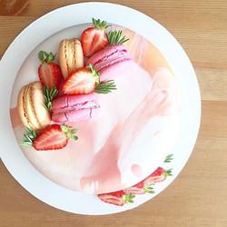 розовый торт кудрово